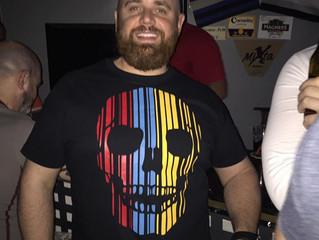 Artjunkie Barcode Skull t-shirt arrives in Spain