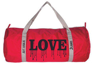 Artjunkie Graffiti Love Paint Drip Bag