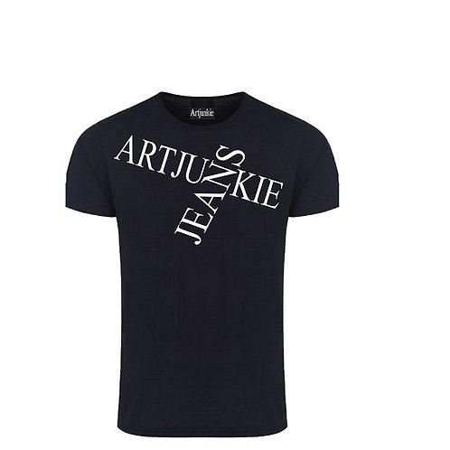 Artjunkie Black  Logo Tshirt