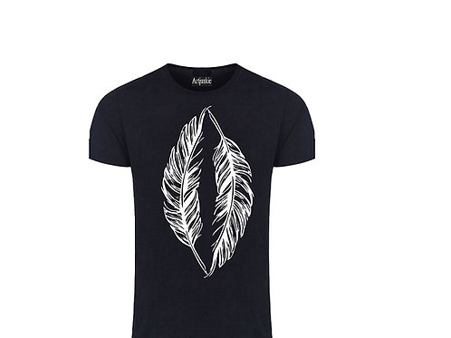 Artjunkie Feather Tshirt