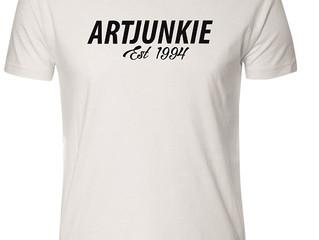 Artjunkie Signature Tshirt Reboot
