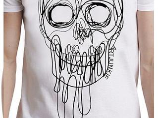 Artjunkie Squiggle Skull