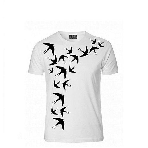 Artjunkie Swallow Tshirt