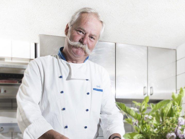 Chef in der Küche
