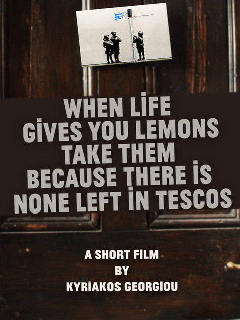 When Life Gives You Lemons, Take Them Because There Is None Left in Tescos