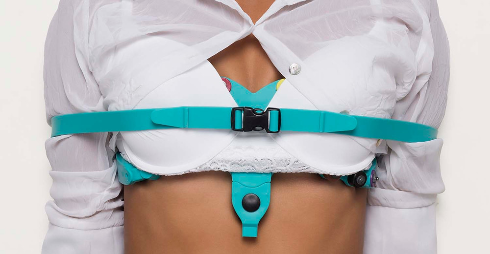 mobile ECG with 12 Lead ECG Electrode belt