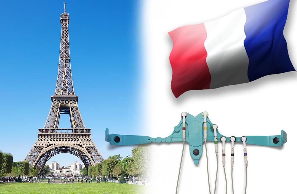 Ceintures ECG sont distribuées en France