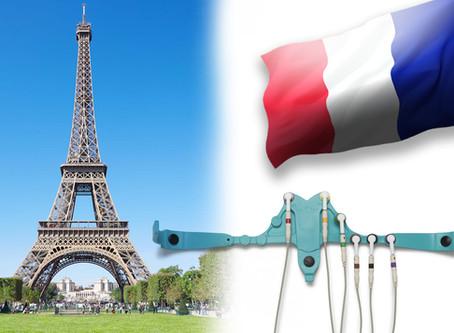 Nos ceintures ECG sont distribuées en France