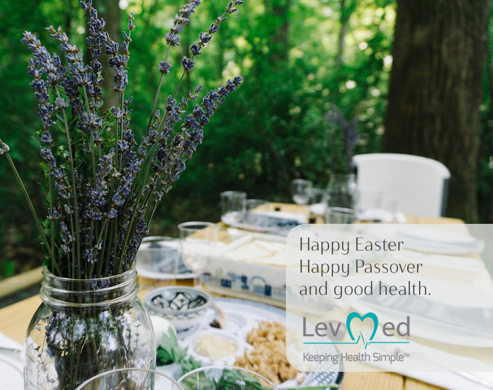 Happy Easter, Happy Passover and good health