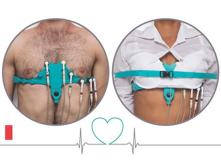 Ceintures d'électrodes ECG AllBrand