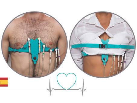 Cinturones de electrodos de ECG AllBrand