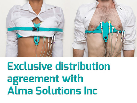 Exclusive distribution agreement with Alma Solutions Inc.