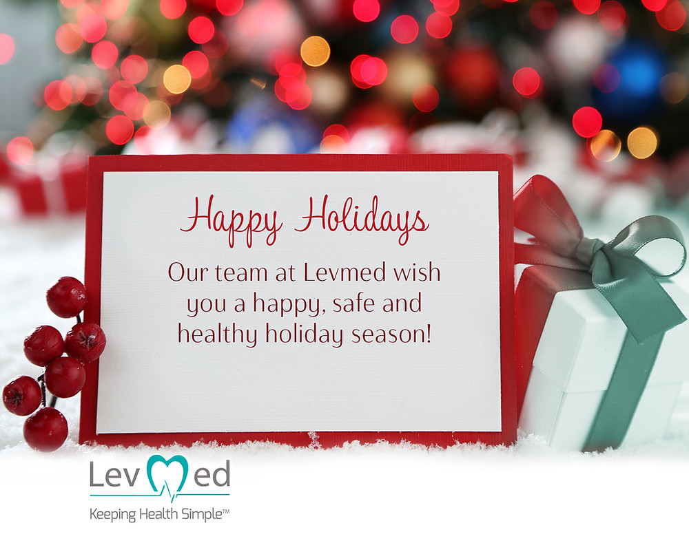 Happy Holidays from Levmed