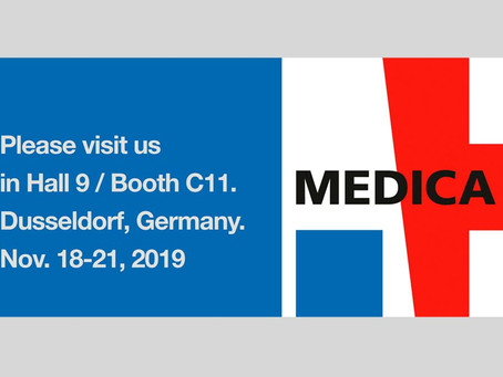 Looking forward to meeting with you at Medica