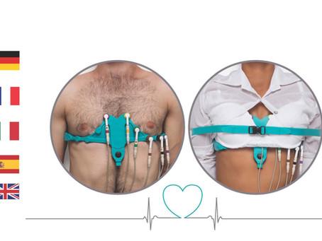 Allbrand™ (Universal) ECG Electrodes belt - Multi Language Brochure