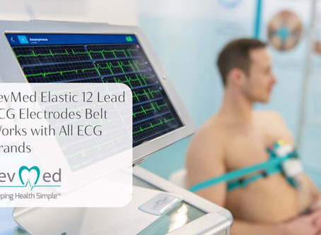 Three more reasons for using the Levmed 12 Lead ECG Electrodes Belt