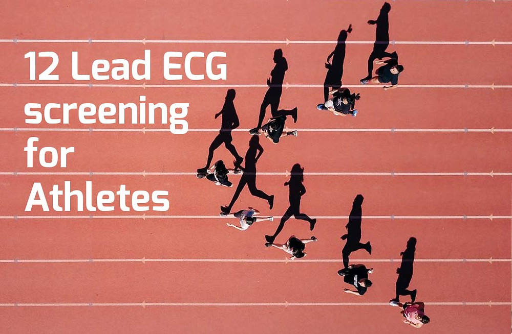 12 Lead ECG screening for Athletes