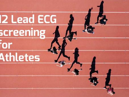 12 Lead ECG screening for Athletes