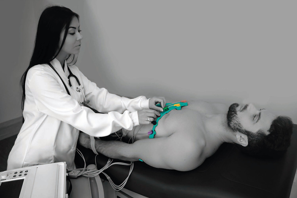 Levmed Universal ECG Electrodes belt in Brazil