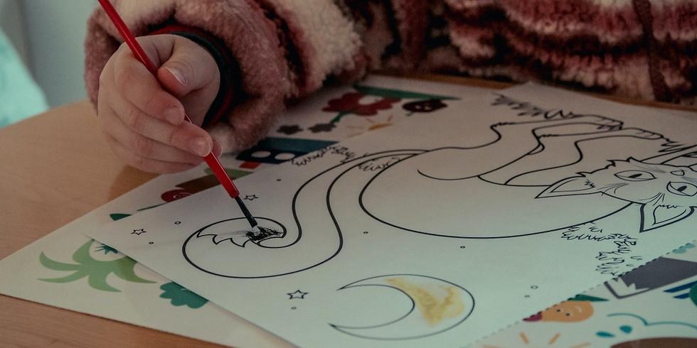 Atelier modul pictura incepatori (6-12 ani) Sesiunea 5