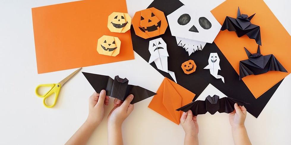 Atelier de Origami- sesiune speciala de Halloween (7-10 ani)