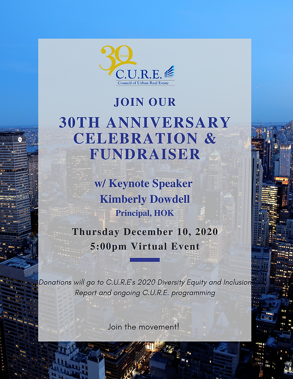 CURE 30th Celebration Sponsorship Deck (