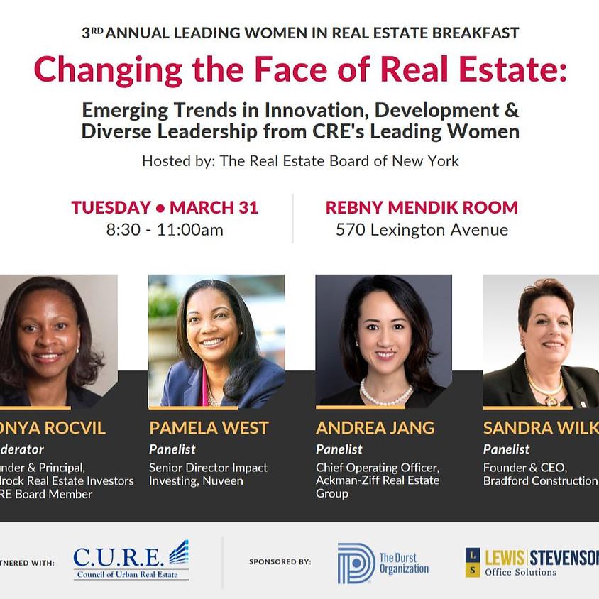 3rd Annual Leading Women in Real Estate Breakfast