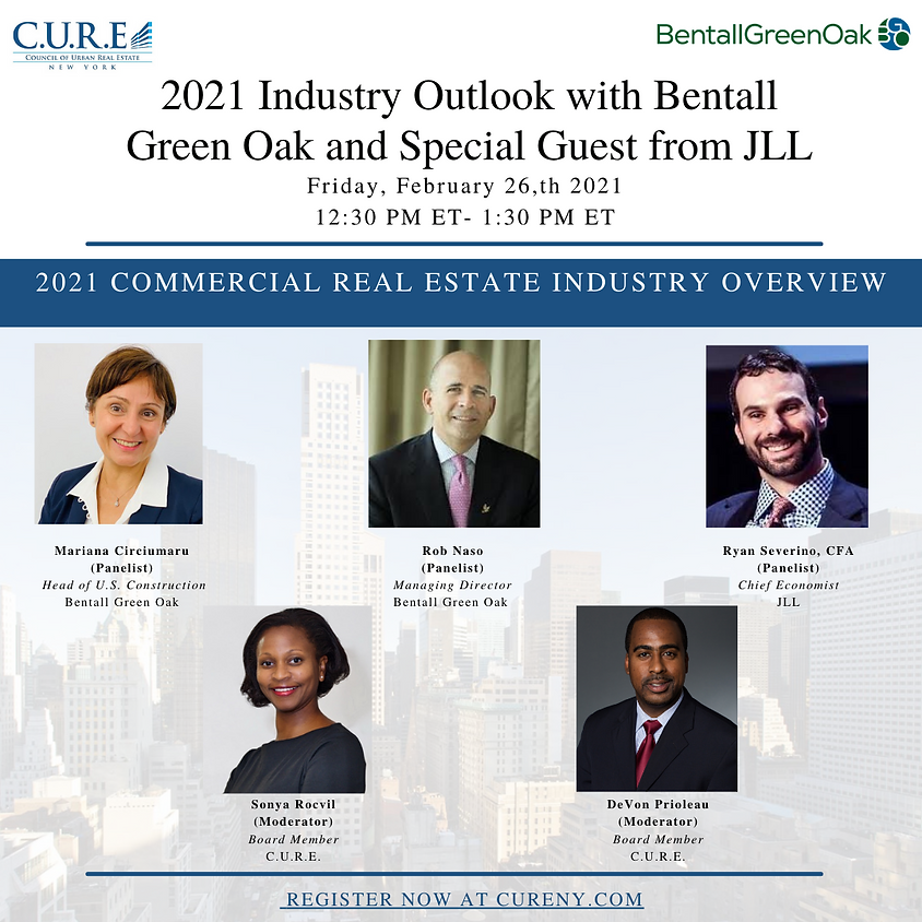 2021 Industry Outlook with Bentall Green Oak and Special Guest from JLL