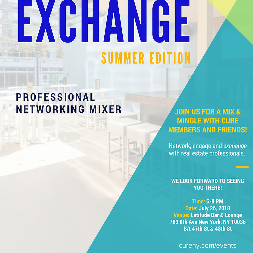 The Exchange Networking Mixer - Summer Edition