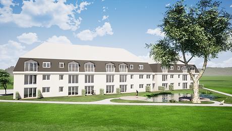 Neubau Mehrfamilienwohnanlage in Burghas