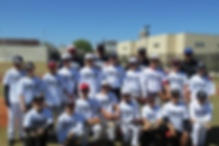 Spring Break baseball camp