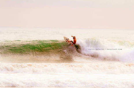 Fun on the waves in Santa Teresa