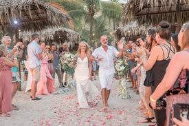 Ready to get married in paradise