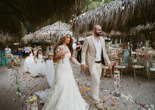 Walking down the Aisle in Costa Rica