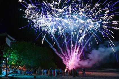 Wedding Fireworks, Santa Teresa, Cosa Rica