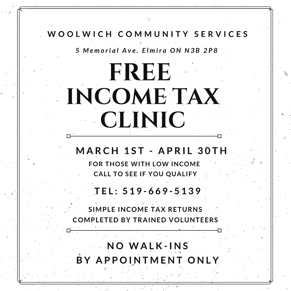 Copy of FREE INCOME TAX CLINIC for socia