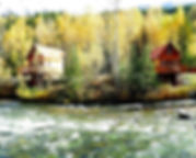 cabin and river.JPG