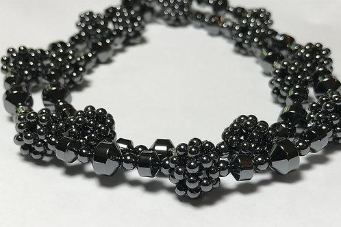 Hematite Ball Bead Necklace