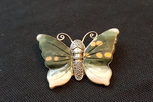 Designer Jasper Butterfly Pendant