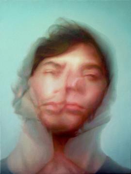'Self Portrait in Bathroom'