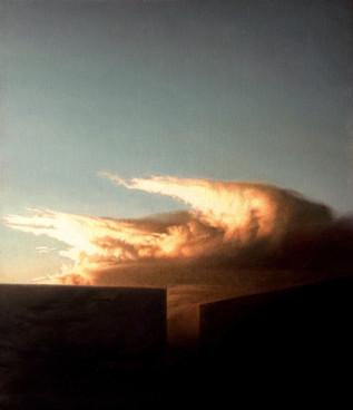 'Cloud Over Buildings'