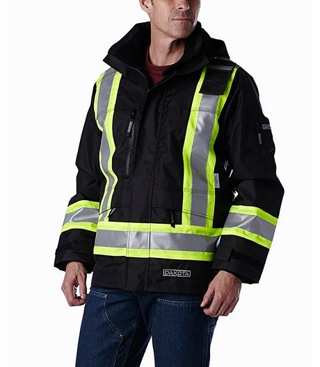 HIVI jacket truck driver