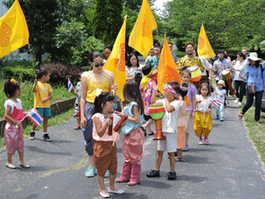 Summertime parade