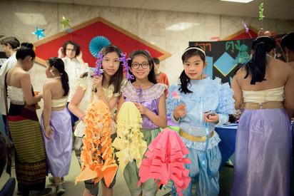 Songkran crafts 2018