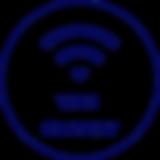 un picto représentant le wifi- wifi-gratuit est écrit dessous