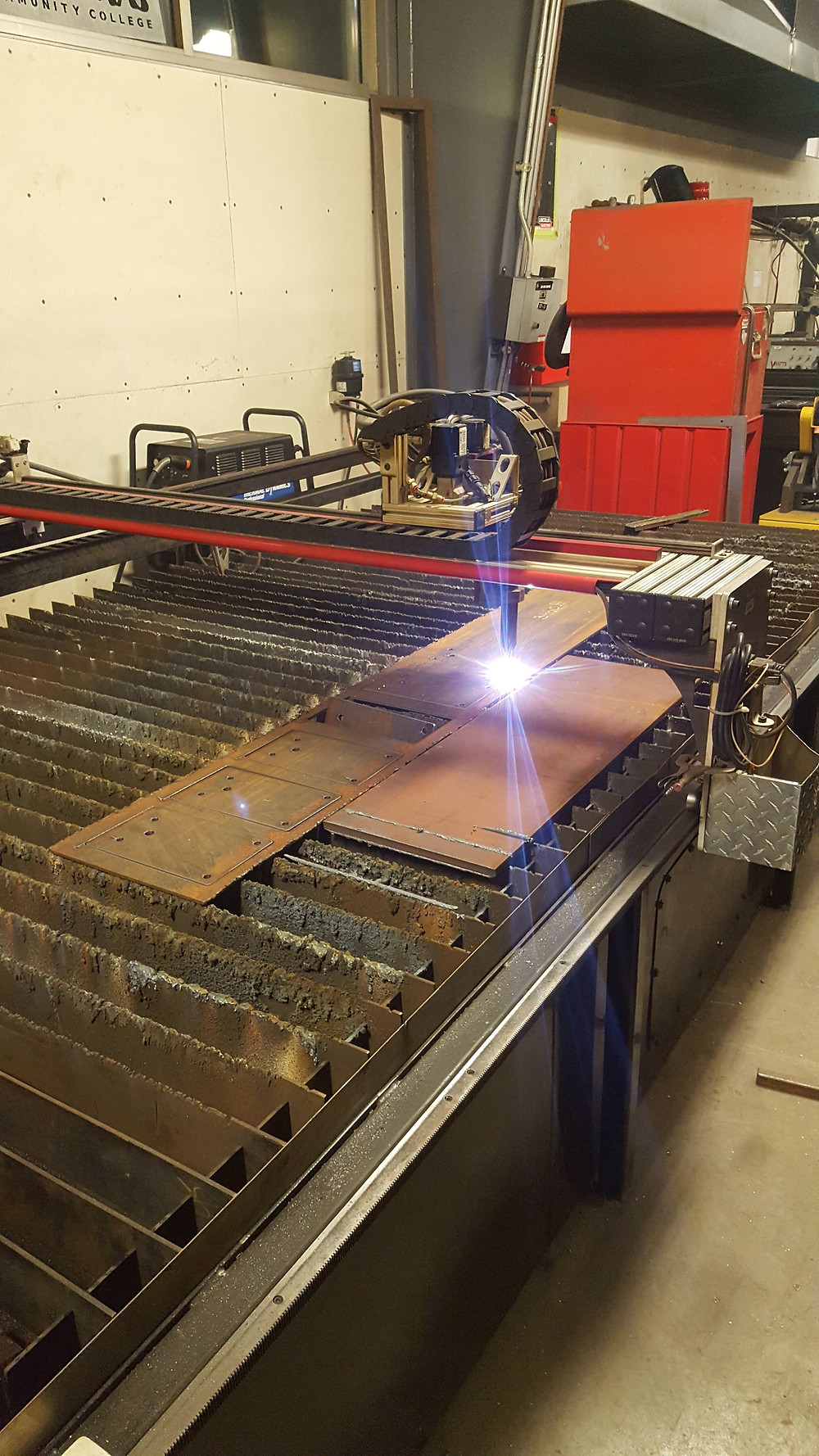 CNC plasma to help cut out my parts