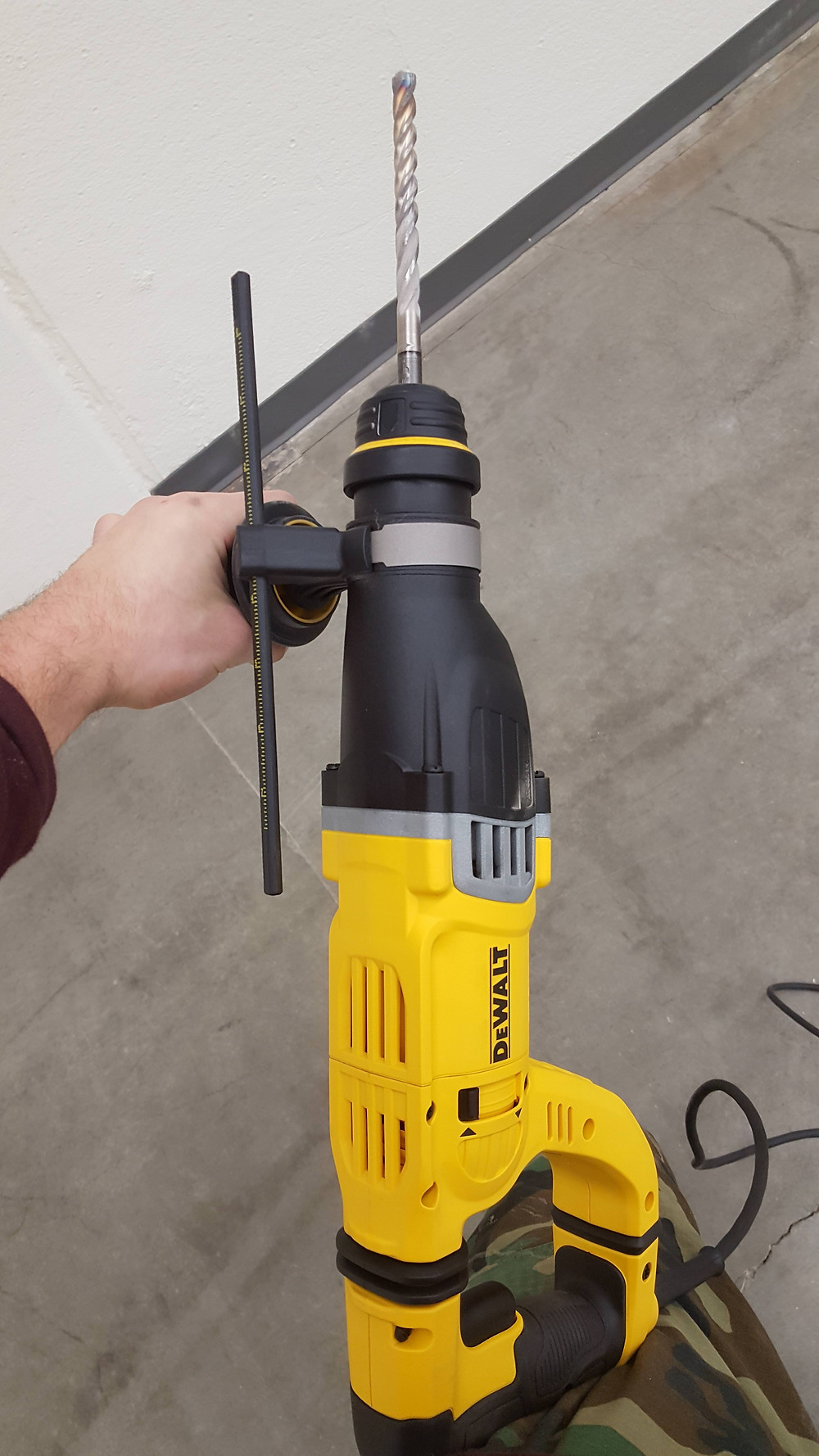 Awesome concrete drill