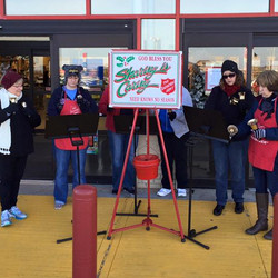 OCHE at the Salvation Army Kettles