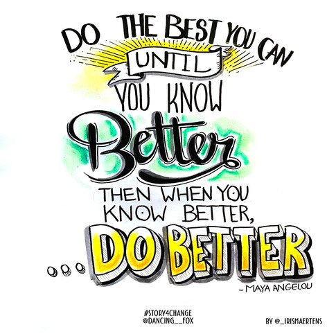 """""""Do Better"""" with @Dancing__Fox"""
