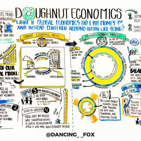 Doughnut economics with @Dancing__Fox
